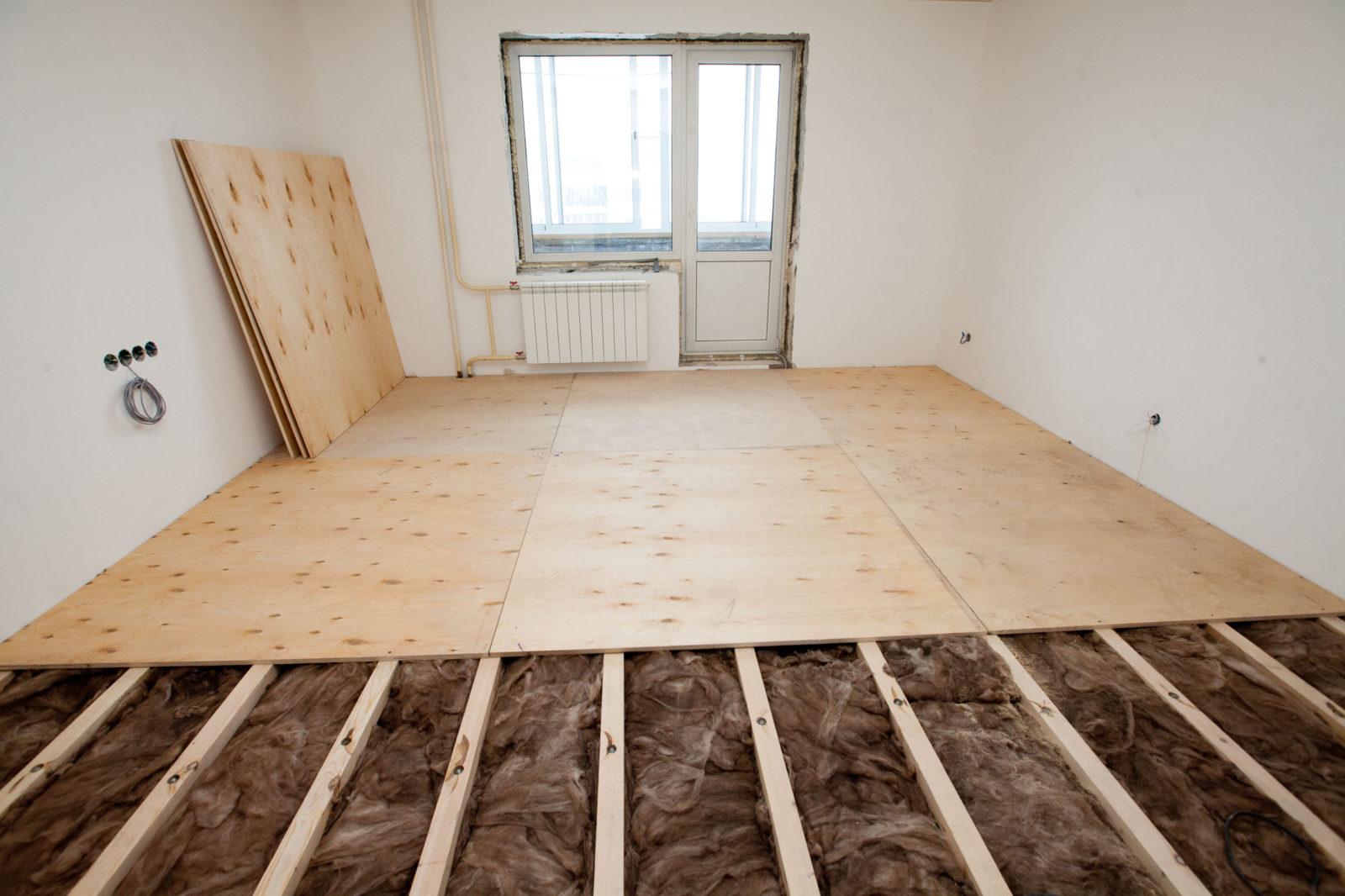 Как утеплить пол в квартире своими руками недорого и быстро