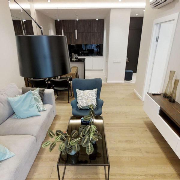 Дизайнерский ремон новой квартиры на Москоском проспекте