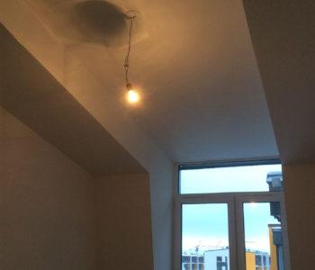 Ремнт комнаты в мансарде и светоиодный потолок-3