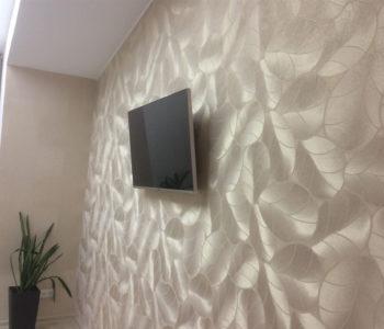 Ремнт комнаты в мансарде и светоиодный потолок-5