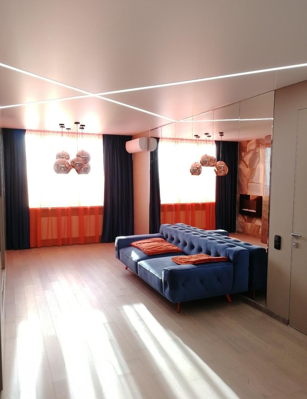 Ремонт большой квартиры-студии