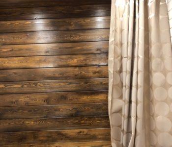 Ремонт санузла в деревенском стиле
