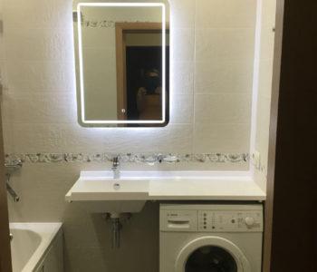 Ремонт ванной комнаты и туалета под ключ-2