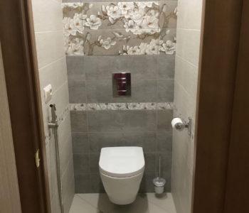 Ремонт ванной комнаты и туалета под ключ-5